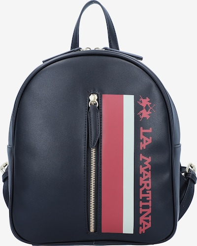La Martina Rugzak 'Celene' in de kleur Rood / Zwart / Wit, Productweergave