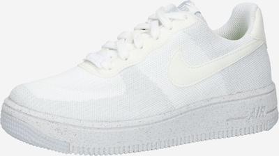 Sneaker 'Air Force 1 Crater Flyknit' Nike Sportswear di colore bianco / bianco sfumato, Visualizzazione prodotti