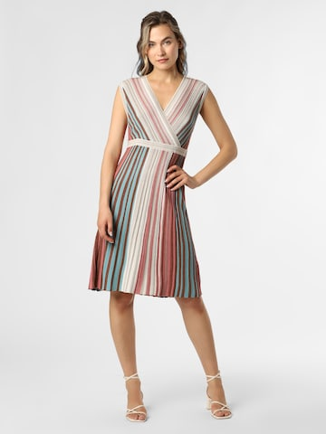 COMMA Knitted dress in Mixed colors