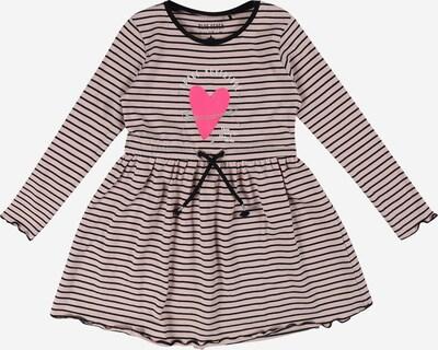 BLUE SEVEN Kleid in nachtblau / pink / rosa / silber / weiß, Produktansicht