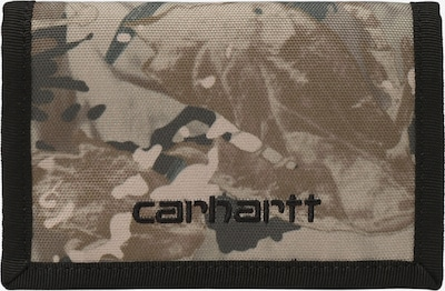 Carhartt WIP Portemonnaie in beige / sand / schwarz, Produktansicht