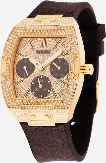 GUESS Analoog horloge in de kleur Goud / Zwart, Productweergave