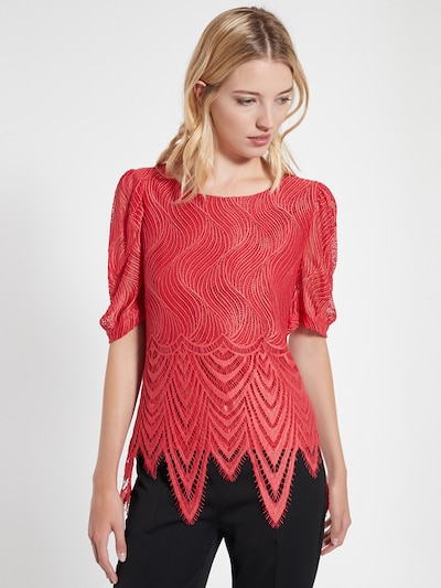Ana Alcazar Bluse 'Cafyl' in rot, Modelansicht