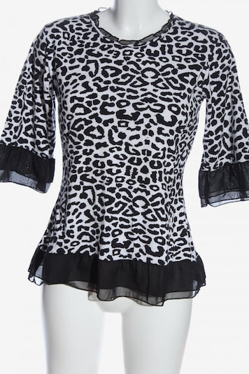 POMPÖÖS Blouse & Tunic in M in Black / White, Item view