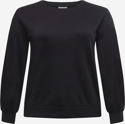 ONLY Carmakoma Sweat-shirt 'LULU' en noir, Vue avec produit