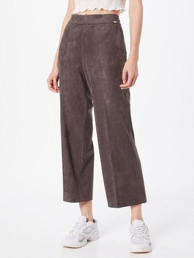 Pantaloni cu dungă 'CISILAS' CINQUE pe pământiu, Vizualizare model