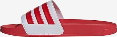 ADIDAS PERFORMANCE Σαγιονάρα 'ADILETTE SHOWER' σε κόκκινο / λευκό, Άποψη προϊόντος