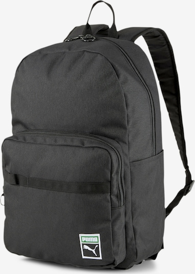 PUMA Rucksack 'Originals Futro' in schwarz / weiß, Produktansicht
