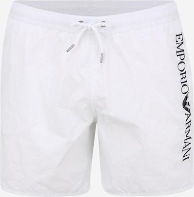 Emporio Armani Plavecké šortky - černá / bílá, Produkt