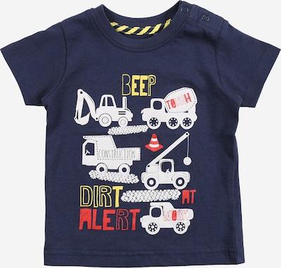 BLUE SEVEN Camiseta en azul oscuro / amarillo / naranja oscuro / blanco, Vista del producto