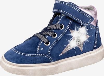 RICHTER Sneaker in blau / pink / silber, Produktansicht