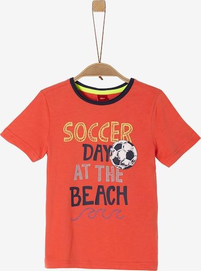 s.Oliver Junior Shirt in mischfarben / hummer, Produktansicht