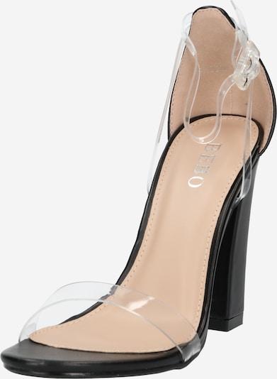 BEBO Sandale 'PHOEBE' in schwarz, Produktansicht