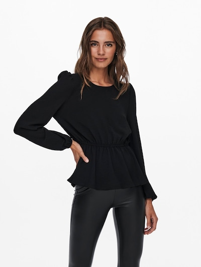 ONLY Blouse 'Mette' in Black, View model