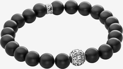 Lunavit Perlenarmband Magnet 'Aton' in schwarz, Produktansicht