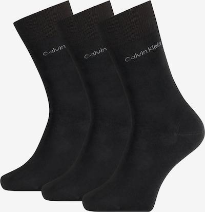 Calvin Klein Underwear Herren Socken 3er Pack - Logo, One Size in schwarz, Produktansicht