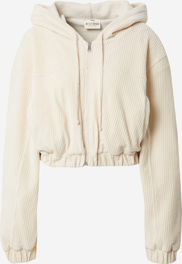 A LOT LESS Zip-Up Hoodie 'Cleo' in Cream, Item view