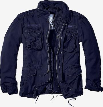 Brandit Between-Season Jacket 'Giant' in Blue