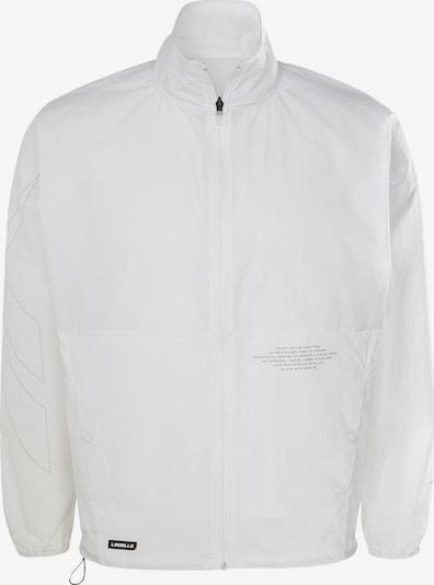 REEBOK Track Jacke  'Les Mills®' in schwarz / weiß, Produktansicht