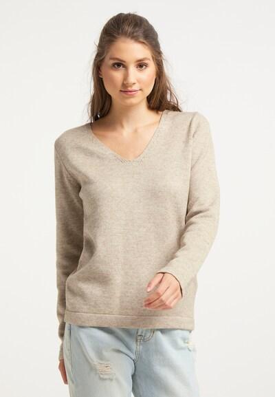 IZIA Pullover in beige, Modelansicht