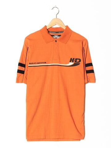 Harley Davidson Polohemd in L-XL in Orange