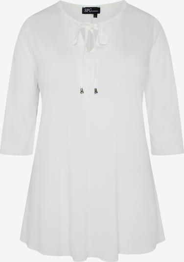 SPGWOMAN Longshirt in weiß, Produktansicht