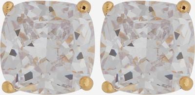 Kate Spade Boucles d'oreilles en or / blanc, Vue avec produit