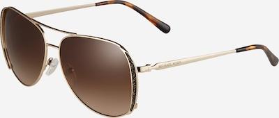 Michael Kors Sonnenbrille 'CHELSEA' in braun / gold, Produktansicht