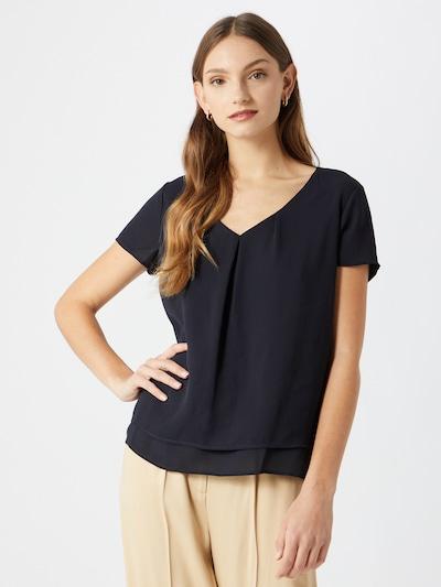 TAIFUN Bluse in ultramarinblau, Modelansicht