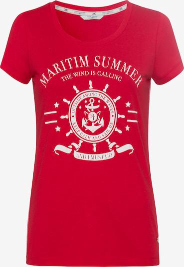 Tom Tailor Polo Team T-Shirt in rot, Produktansicht