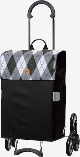 Andersen Shopper Valisette en gris / noir, Vue avec produit