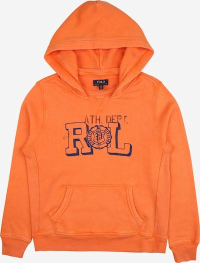 POLO RALPH LAUREN Sweatshirt in de kleur Navy / Lichtoranje / Zwart, Productweergave