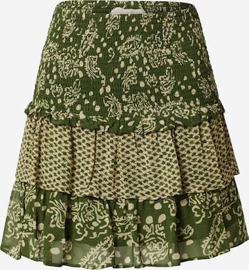 Cecilie Copenhagen Skirt 'Tessa' in Green