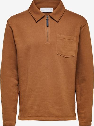 SELECTED HOMME Sweatshirt i karamel, Produktvisning