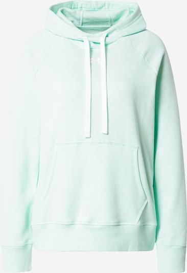 UNDER ARMOUR Sportsweatshirt in mint, Produktansicht