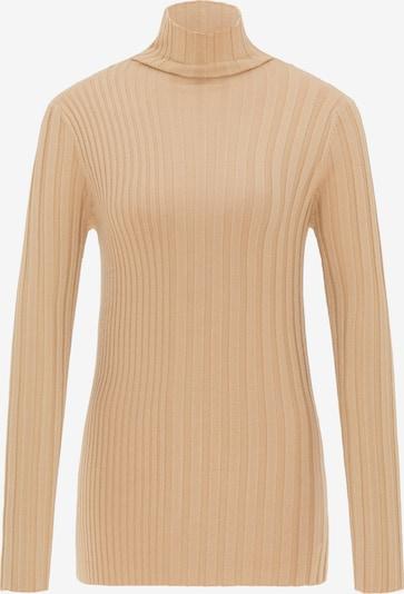 DreiMaster Klassik Pullover in beige, Produktansicht
