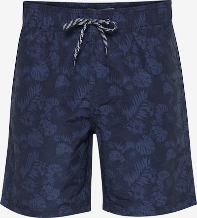 BLEND Plavecké šortky - modrá / tmavě modrá, Produkt