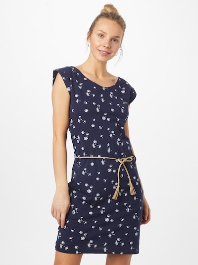 WLD Kleid 'Luna City' in navy / weiß, Modelansicht