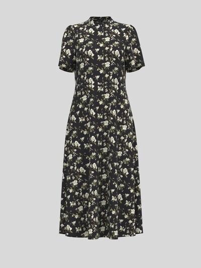 VILA Kleid 'Lana' in creme / oliv / schwarz, Produktansicht