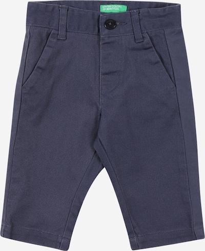 Pantaloni UNITED COLORS OF BENETTON di colore blu colomba, Visualizzazione prodotti
