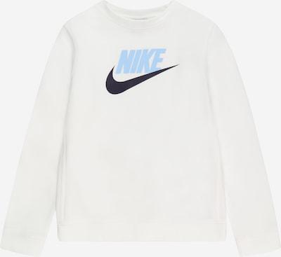 Nike Sportswear Sweatshirt in blau / schwarz / weiß, Produktansicht