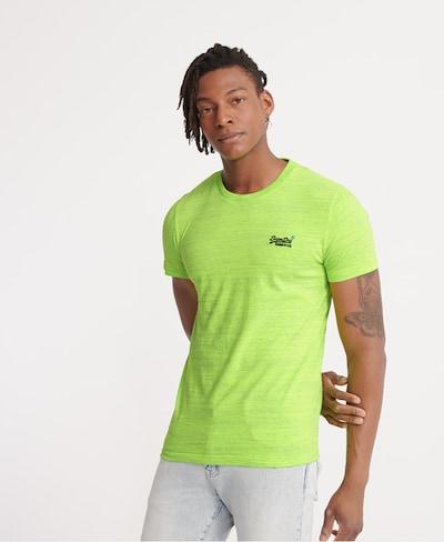 Superdry T-Shirt in kiwi: Frontalansicht