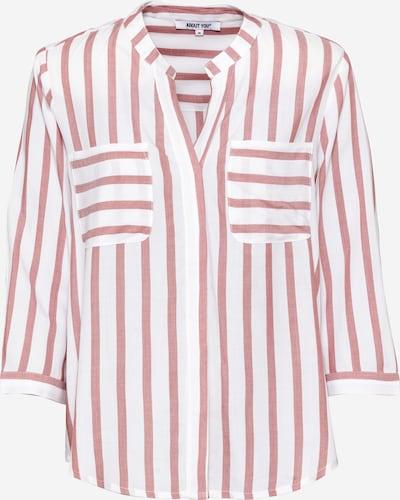 ABOUT YOU Bluza 'Hanna' | roza / bela barva, Prikaz izdelka