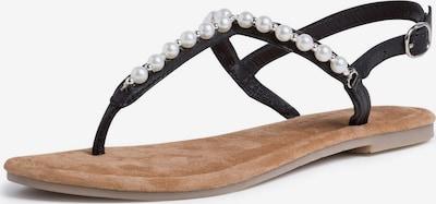 TAMARIS Séparateur d'orteils en noir, Vue avec produit