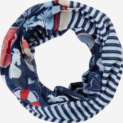 CODELLO Schal in dunkelblau / rot / weiß, Produktansicht