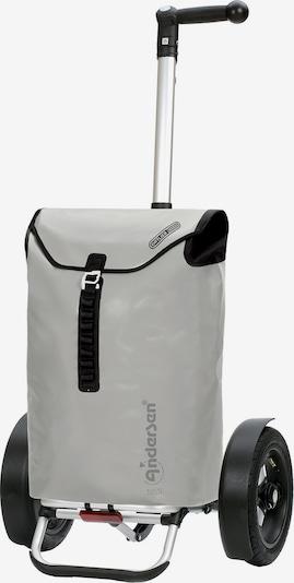 Andersen Shopper Valisette 'Tura' en gris / gris clair / noir, Vue avec produit