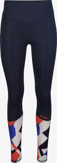 O'NEILL Leggings in de kleur Blauw / Navy / Rood / Wit, Productweergave