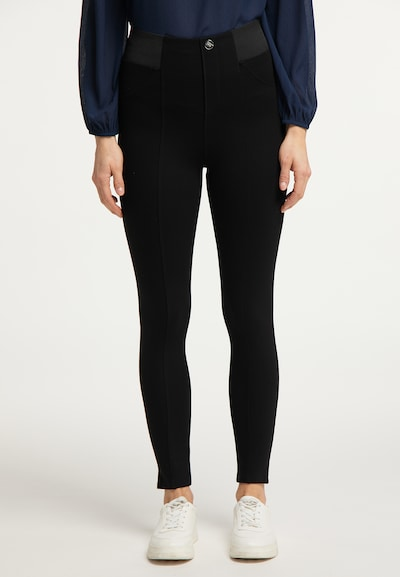 Usha Leggings in schwarz, Modelansicht