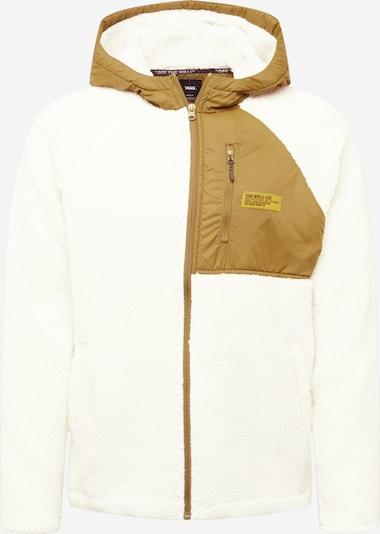 VANS Fleece jas 'World Code' in de kleur Kaki / Natuurwit, Productweergave