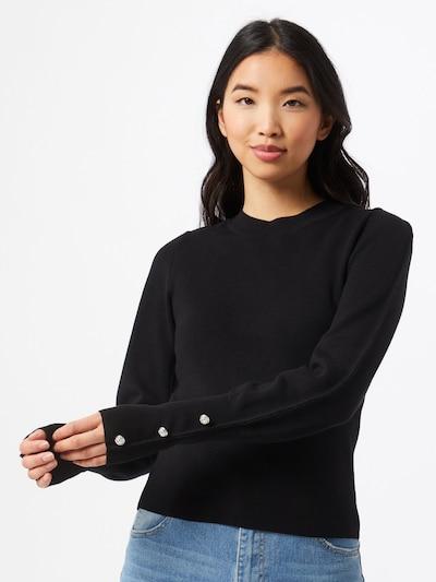 Megztinis iš River Island, spalva – juoda, Modelio vaizdas
